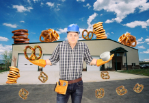 Copious amounts of pretzels